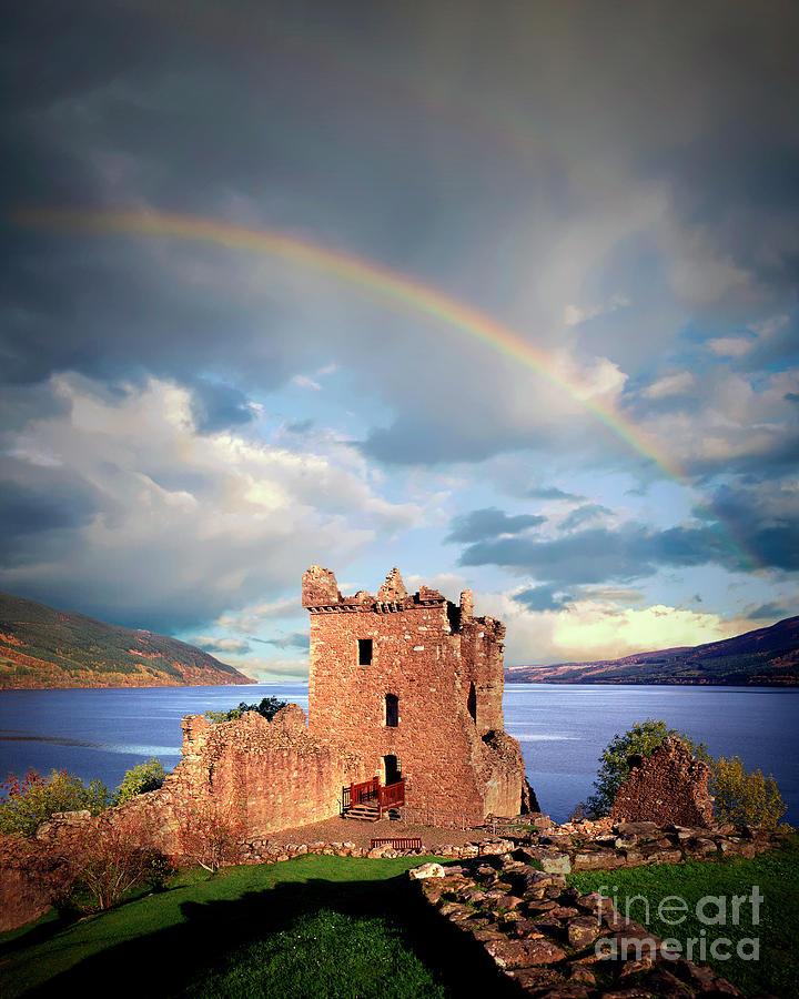 Urquhart Castle by Edmund Nagele