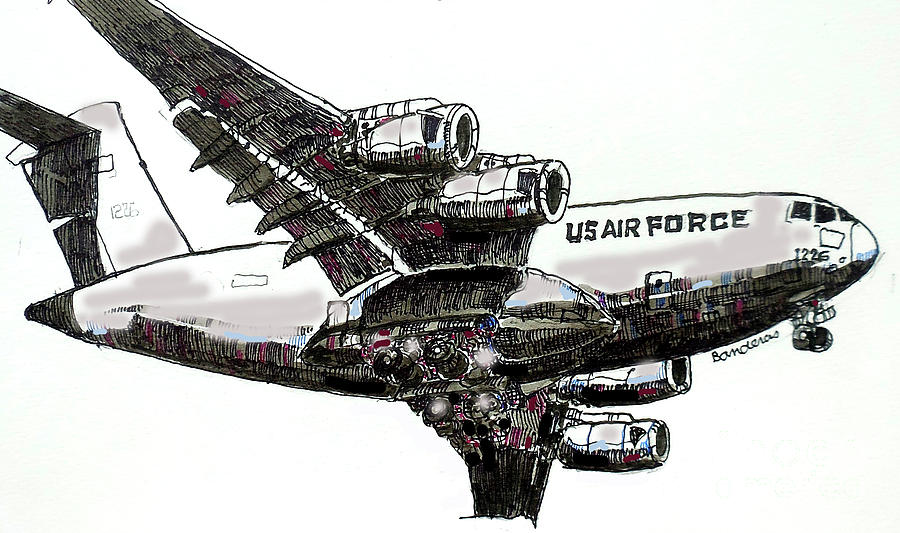 U.S. Air Force Heavy by Terry Banderas