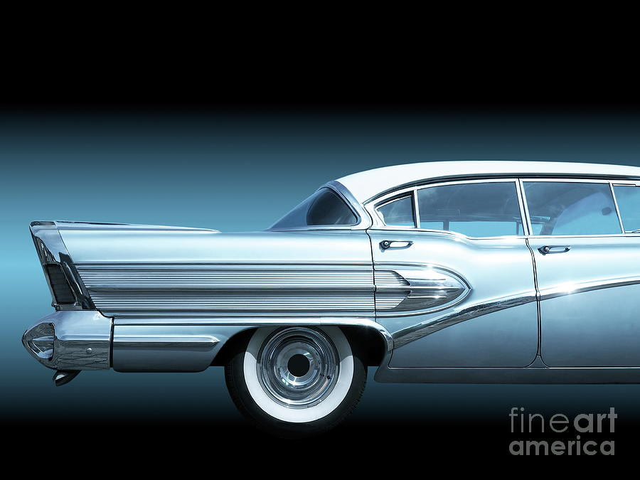 American Classic Cars >> Us American Classic Cars Super 1958 Photograph By Beate Gube