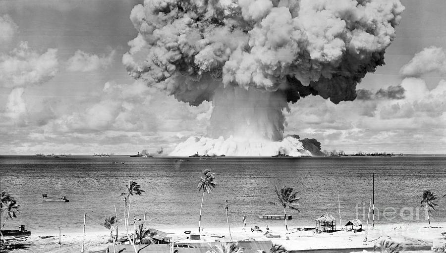 U.s. Atomic Bomb Test At Bikini Atoll Photograph by Bettmann