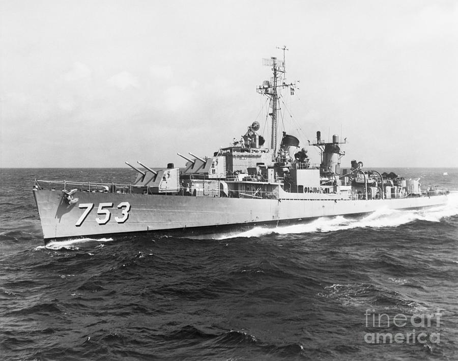 Us Destroyer John R. Pierce Photograph by Bettmann