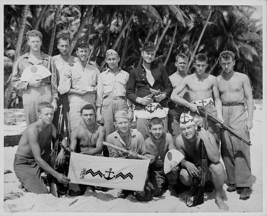 Us Marines In Okinawa Photograph by Fpg