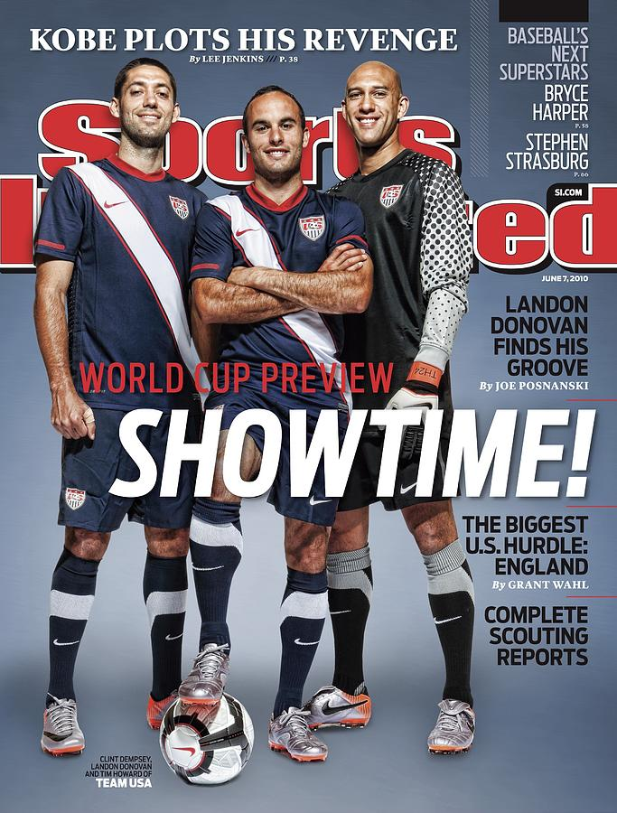 Us Mens National Team, 2010 World Cup Preview Sports Illustrated Cover Photograph by Sports Illustrated