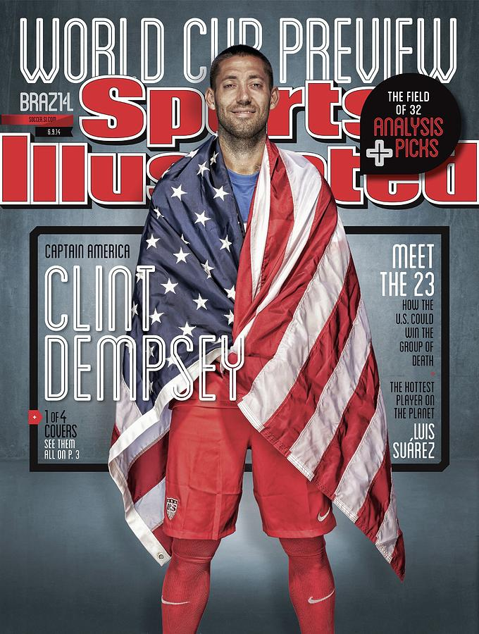 Us Mens National Team, 2014 Fifa World Cup Preview Issue Sports Illustrated Cover Photograph by Sports Illustrated