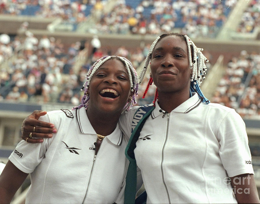 Us Open At Arthur Ashe Stadium Photograph by New York Daily News Archive