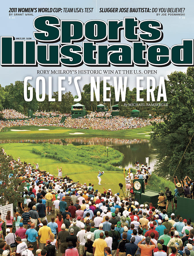 U.s. Open - Final Round Sports Illustrated Cover Photograph by Sports Illustrated