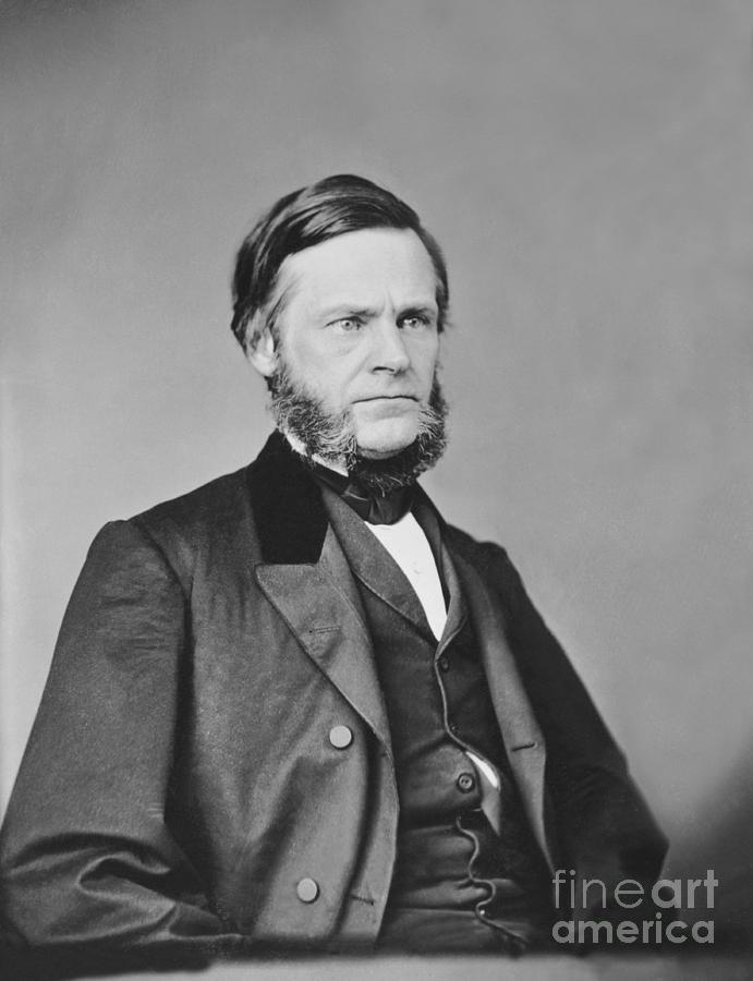 Us Statesman John Sherman Photograph by Bettmann