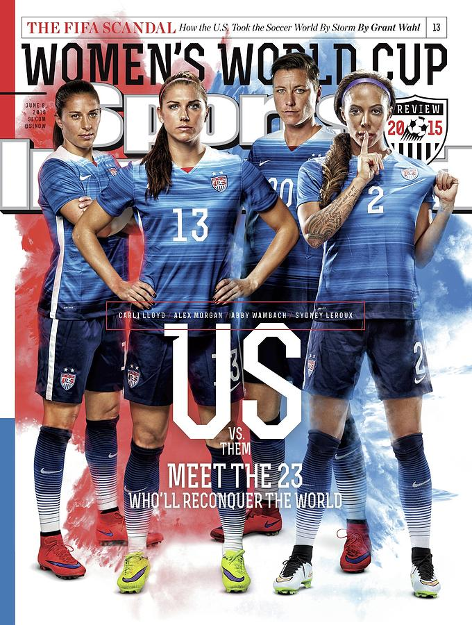 Us Vs. Them, Meet The 23 Wholl Reconquer The World Sports Illustrated Cover Photograph by Sports Illustrated