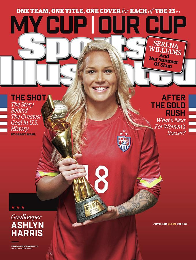 Us Womens National Team 2015 Fifa Womens World Cup Champions Sports Illustrated Cover Photograph by Sports Illustrated