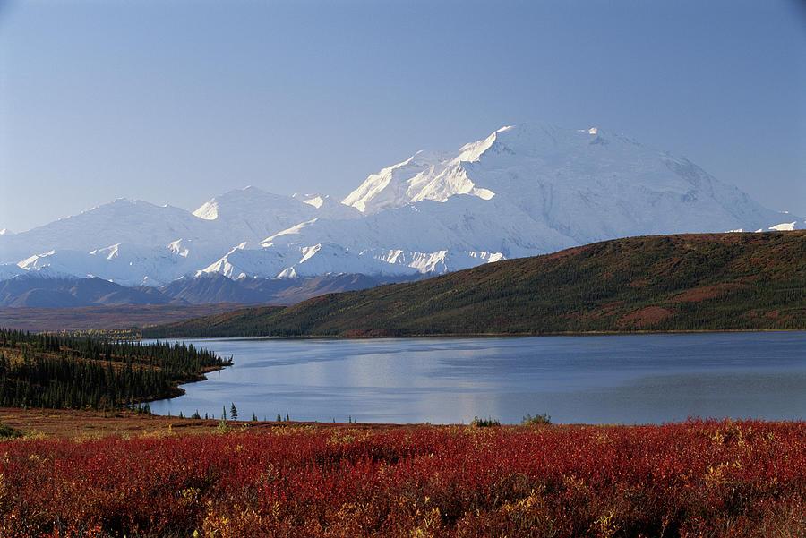 Usa, Alaska, Denali National Park, Mt Photograph by Art Wolfe