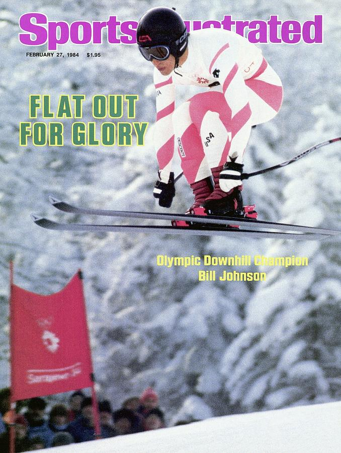 Usa Bill Johnson, 1984 Winter Olympics Sports Illustrated Cover Photograph by Sports Illustrated