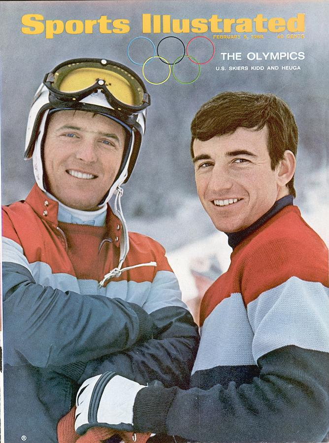 Usa Billy Kidd And Jim Huega, Olympic Skiing Sports Illustrated Cover Photograph by Sports Illustrated