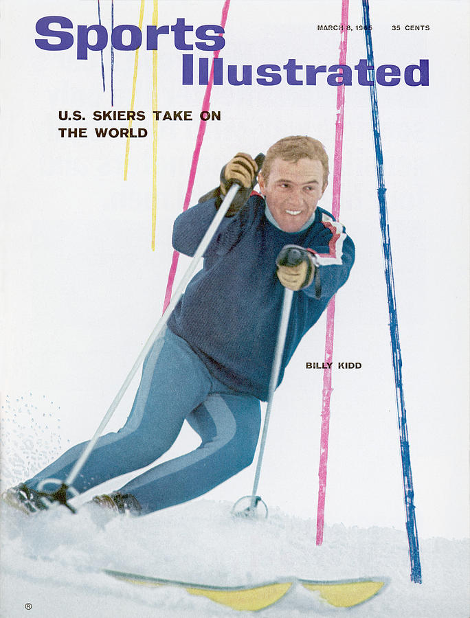 Usa Billy Kidd, Skiing Sports Illustrated Cover Photograph by Sports Illustrated