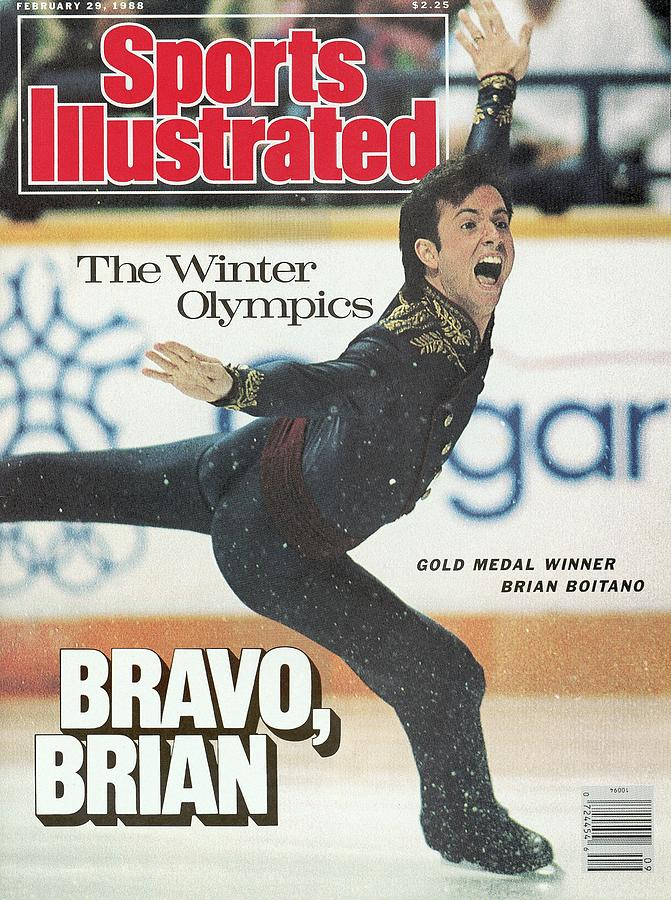 Usa Brian Boitano, 1988 Winter Olympics Sports Illustrated Cover Photograph by Sports Illustrated