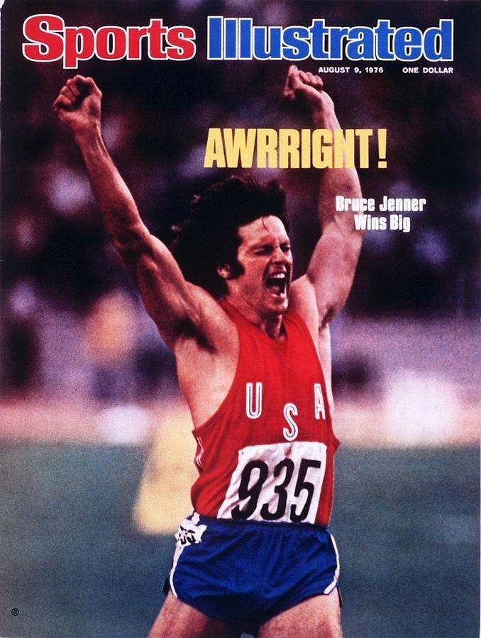 Usa Bruce Jenner, 1976 Summer Olympics Sports Illustrated Cover Photograph by Sports Illustrated