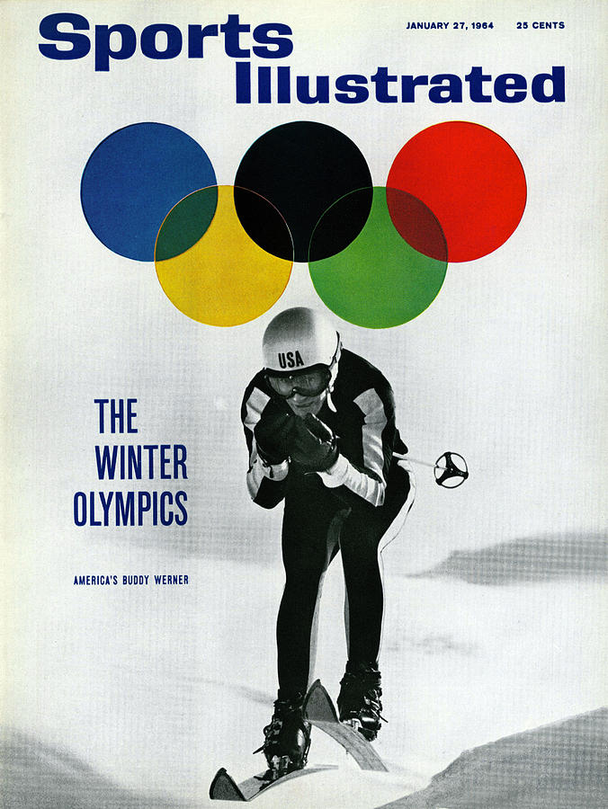 Usa Buddy Werner, 1964 Innsbruck Olympic Games Preview Sports Illustrated Cover Photograph by Sports Illustrated