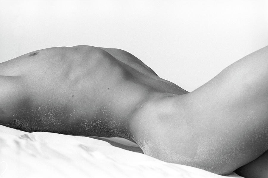 Usa, California, Joshua Tree, Nude Man Photograph by Win-initiative