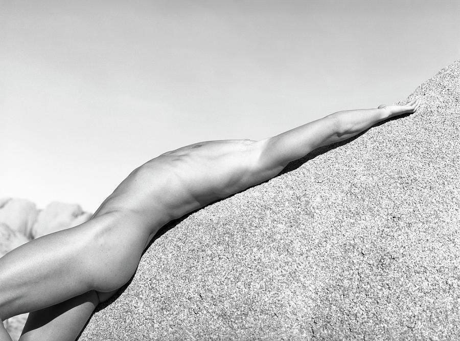 Usa, California, Joshua Tree, Nude Photograph by Win-initiative