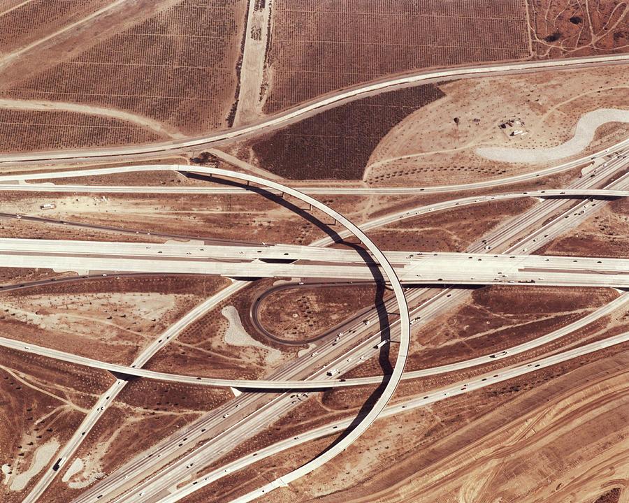 Usa, California, San Bernardino Photograph by Nivek Neslo