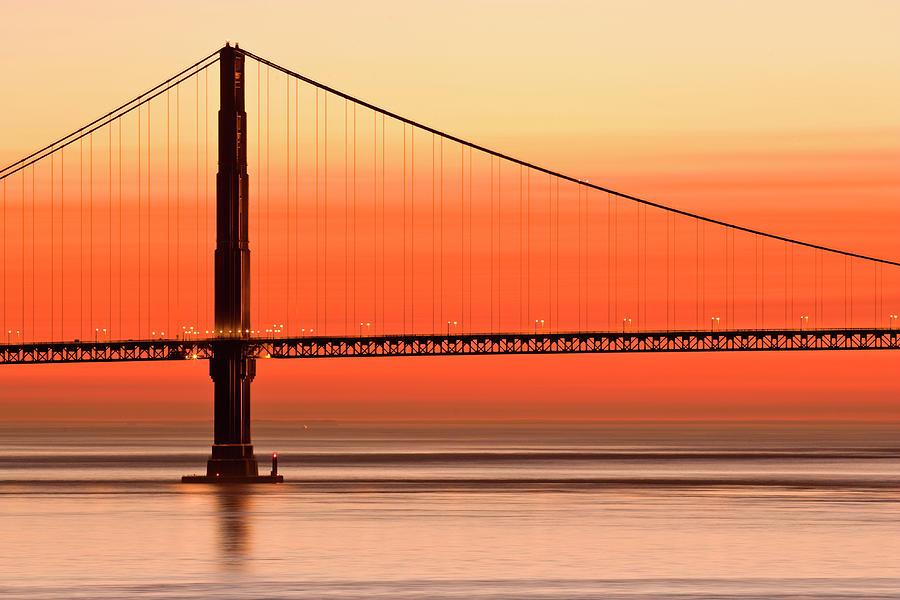 Usa, California, San Francisco, Golden Photograph by David Madison
