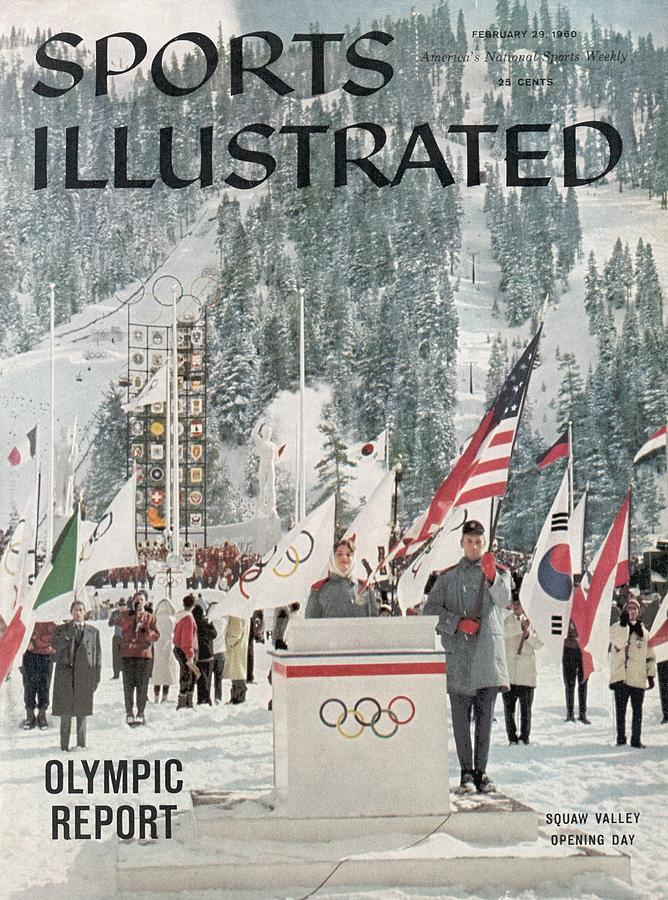 Usa Carol Heiss, 1960 Winter Olympics Sports Illustrated Cover Photograph by Sports Illustrated