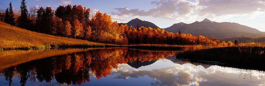Usa, Colorado, Telluride, Sunrise Peak Photograph by Jeremy Woodhouse