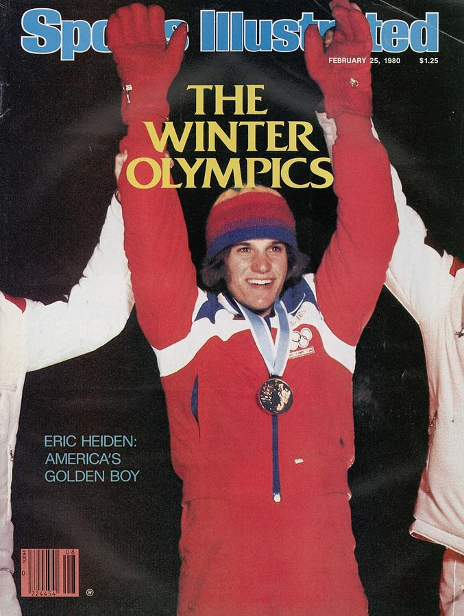 Usa Eric Heiden, 1980 Winter Olympics Sports Illustrated Cover Photograph by Sports Illustrated