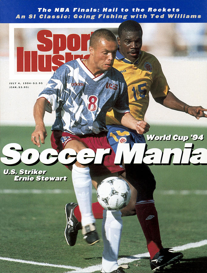Usa Ernie Stewart, 1994 Fifa World Cup Sports Illustrated Cover Photograph by Sports Illustrated