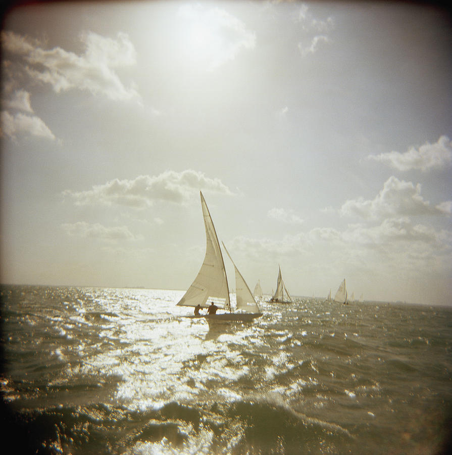 Usa, Florida, Miami, Biscayne Bay Photograph by Rosanne Olson