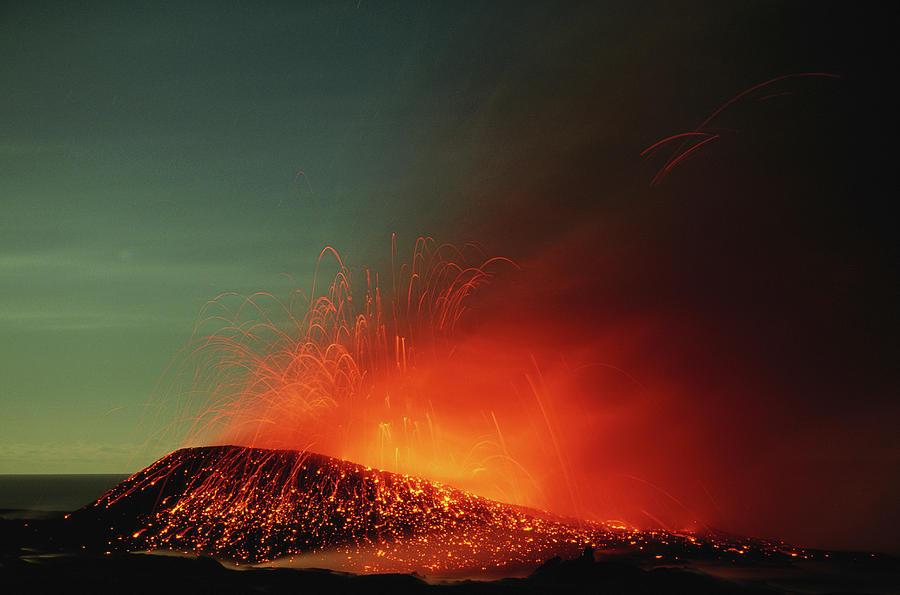 Usa, Hawaii, Big Island, Volcanoes Np Photograph by Paul Souders