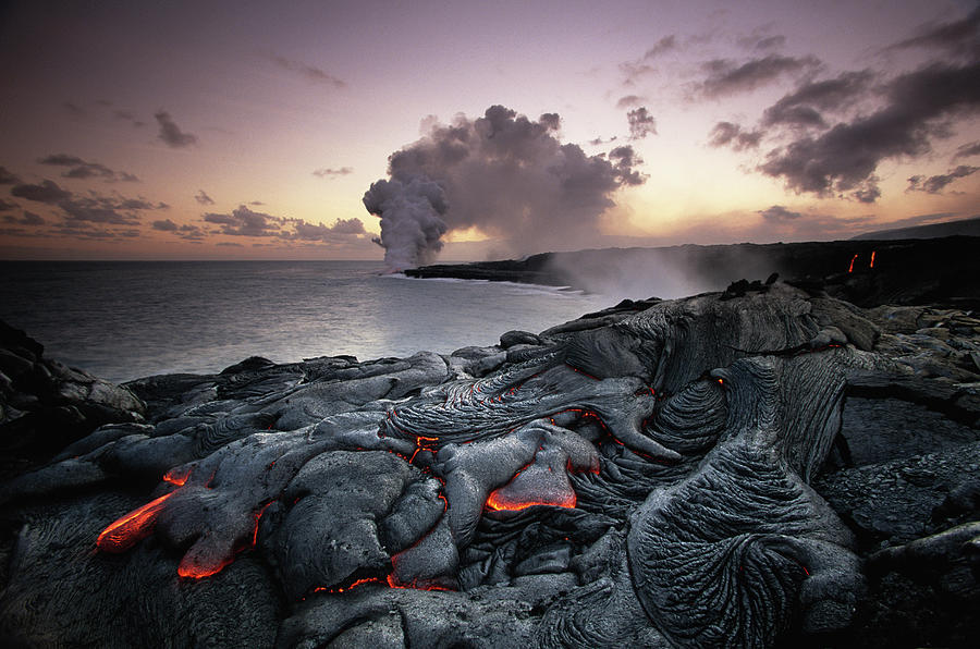 Usa, Hawaii, Volcanoes National Park Photograph by Art Wolfe