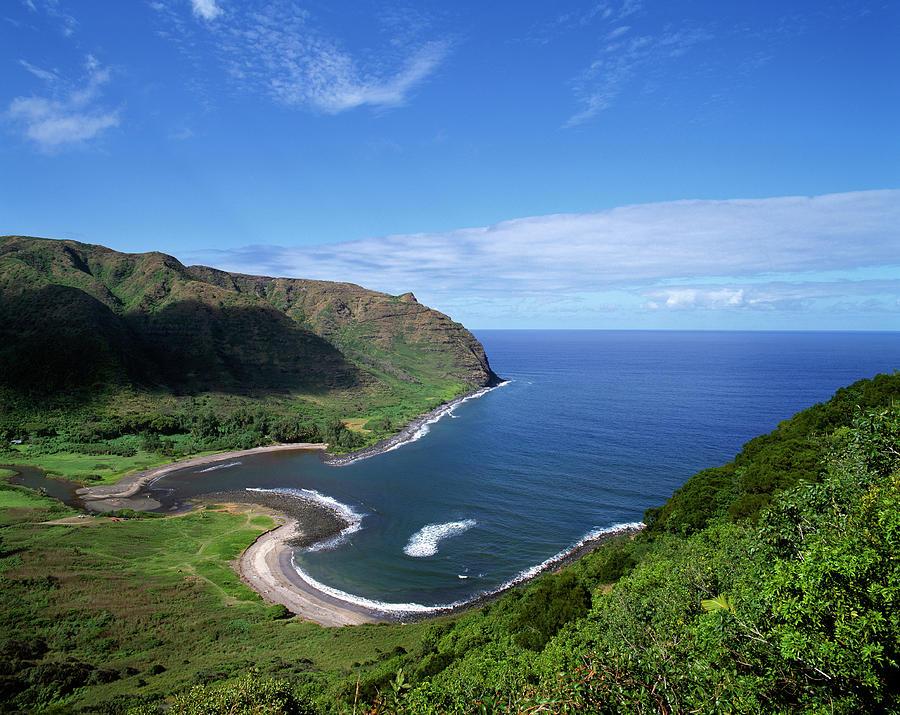 Usa, Hawaiian Islands, Molokai, Halawa Photograph by Maremagnum