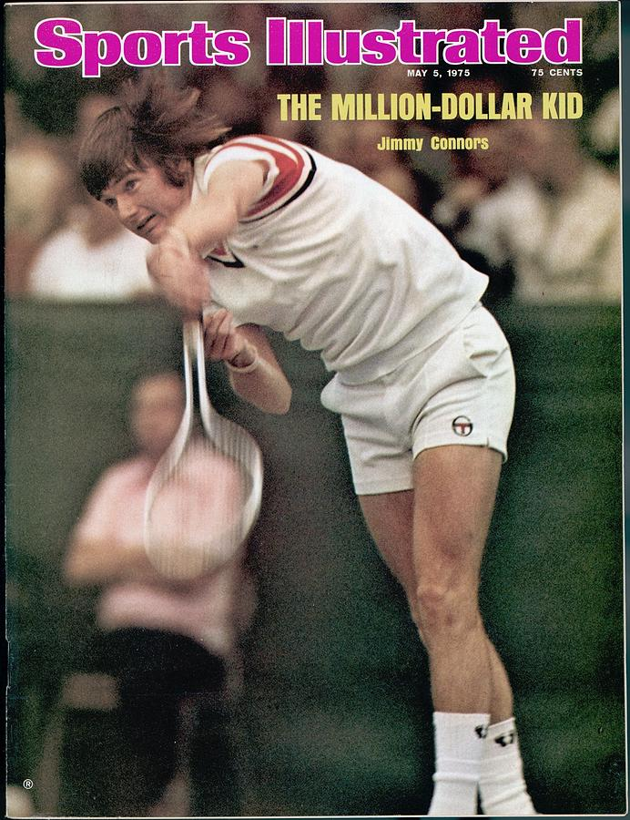Usa Jimmy Connors, $250,000 Challenge Match Sports Illustrated Cover Photograph by Sports Illustrated