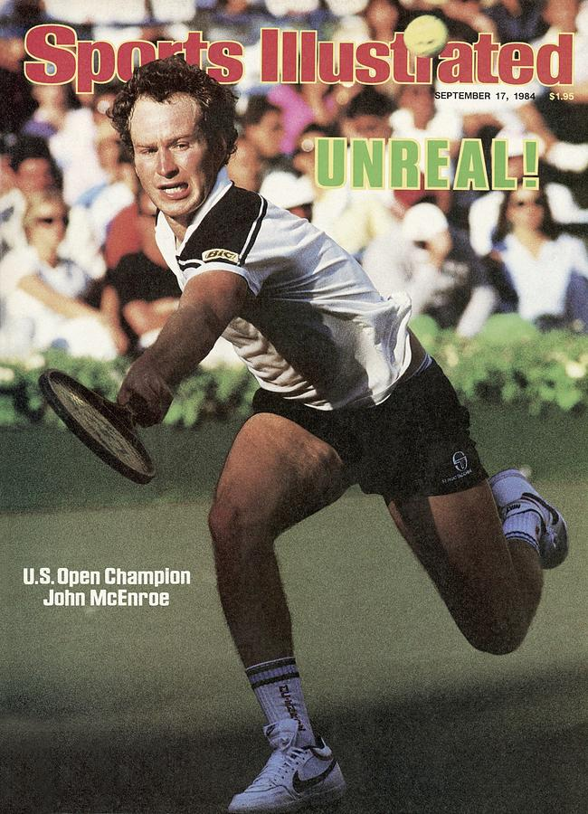 Usa John Mcenroe, 1984 Us Open Sports Illustrated Cover Photograph by Sports Illustrated