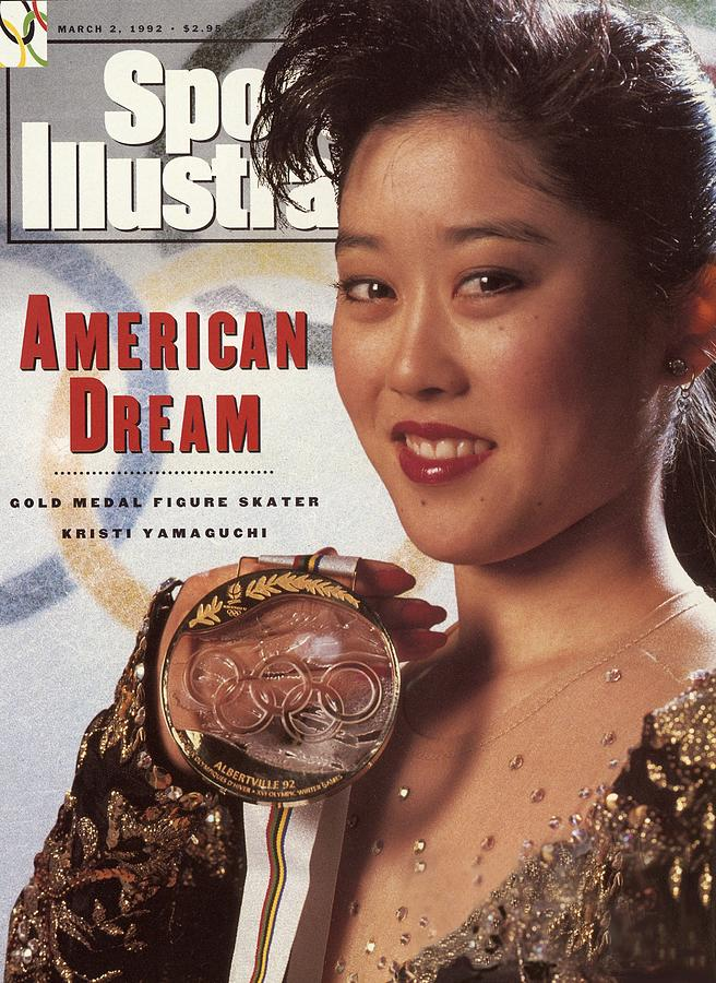 Usa Kristi Yamaguchi, 1992 Winter Olympics Sports Illustrated Cover Photograph by Sports Illustrated