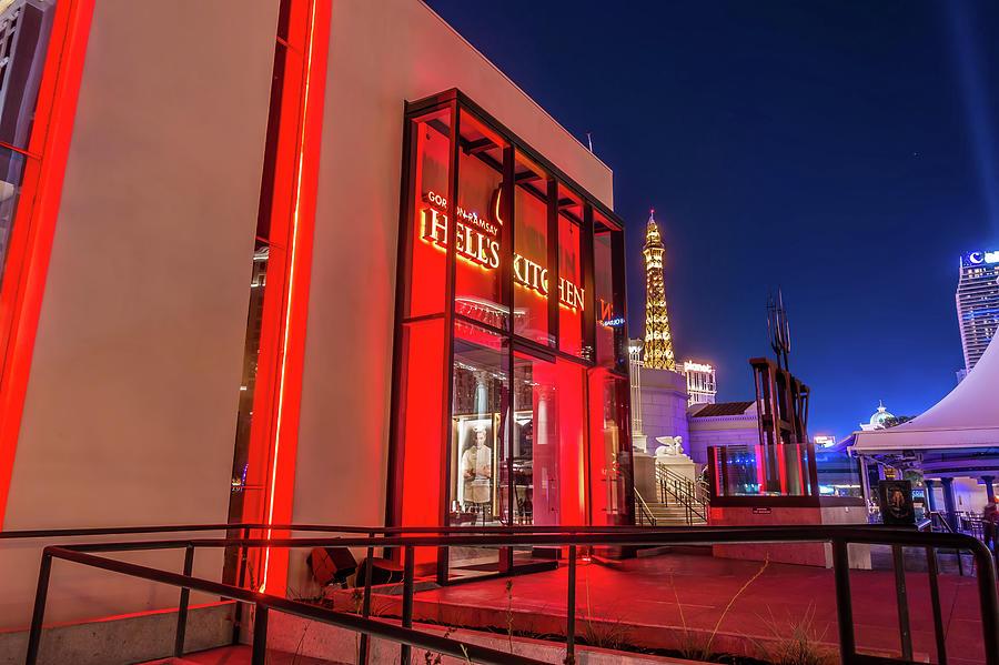 Usa Las Vegas November 2018 Gordon Ramsay Hells Kitchen In La