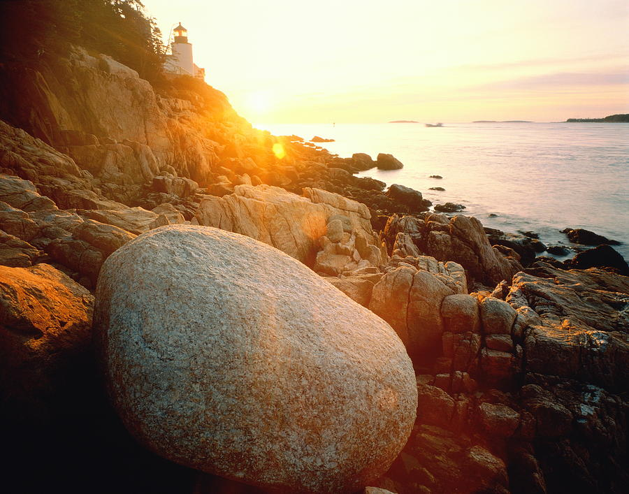 Usa, Maine, Acadia National Park, Bass Photograph by David Muench