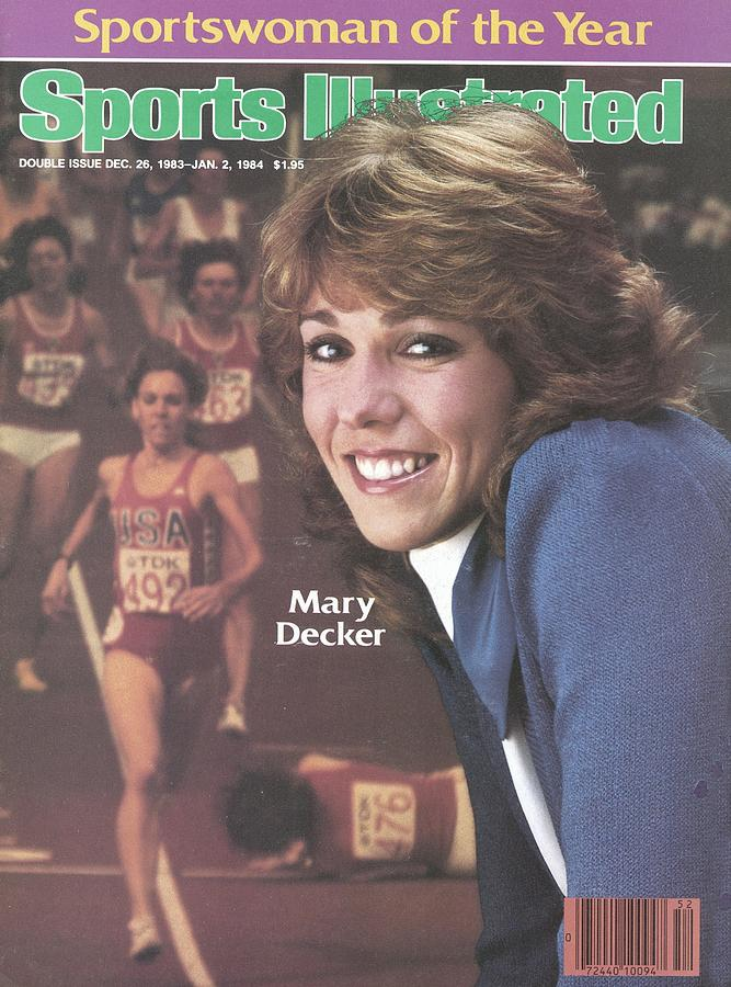 Usa Mary Decker, 1983 Sportswoman Of The Year Sports Illustrated Cover Photograph by Sports Illustrated