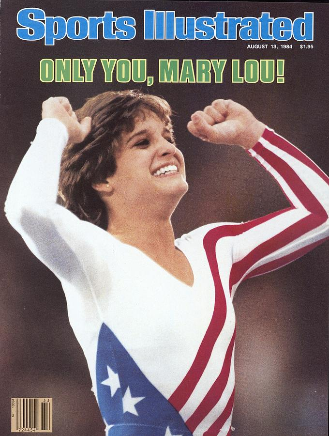 Usa Mary Lou Retton, 1984 Summer Olympics Sports Illustrated Cover Photograph by Sports Illustrated