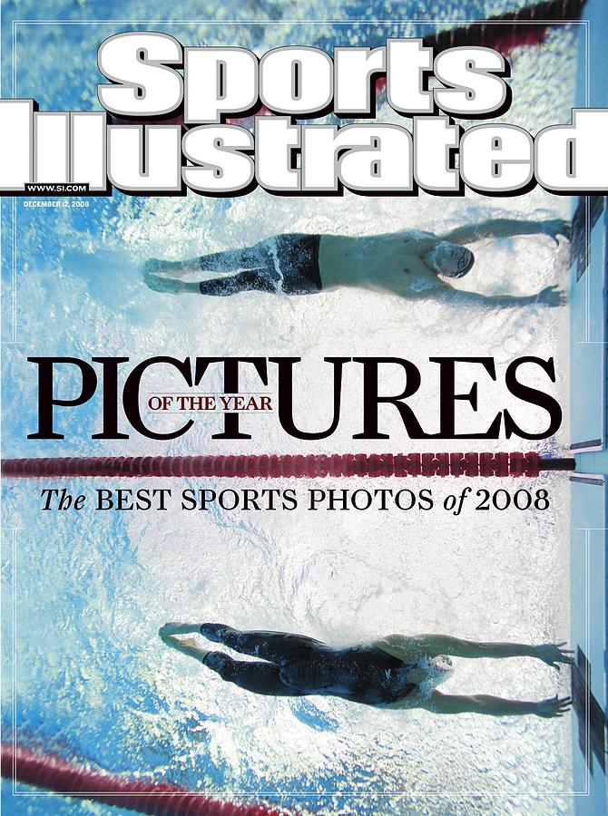 Usa Michael Phelps And Serbia Milorad Cavic, 2008 Summer Sports Illustrated Cover Photograph by Sports Illustrated