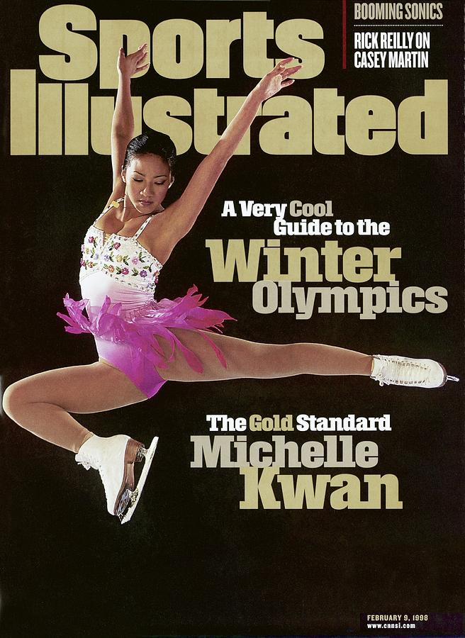 Usa Michelle Kwan, 1998 Nagano Olympic Games Preview Sports Illustrated Cover Photograph by Sports Illustrated