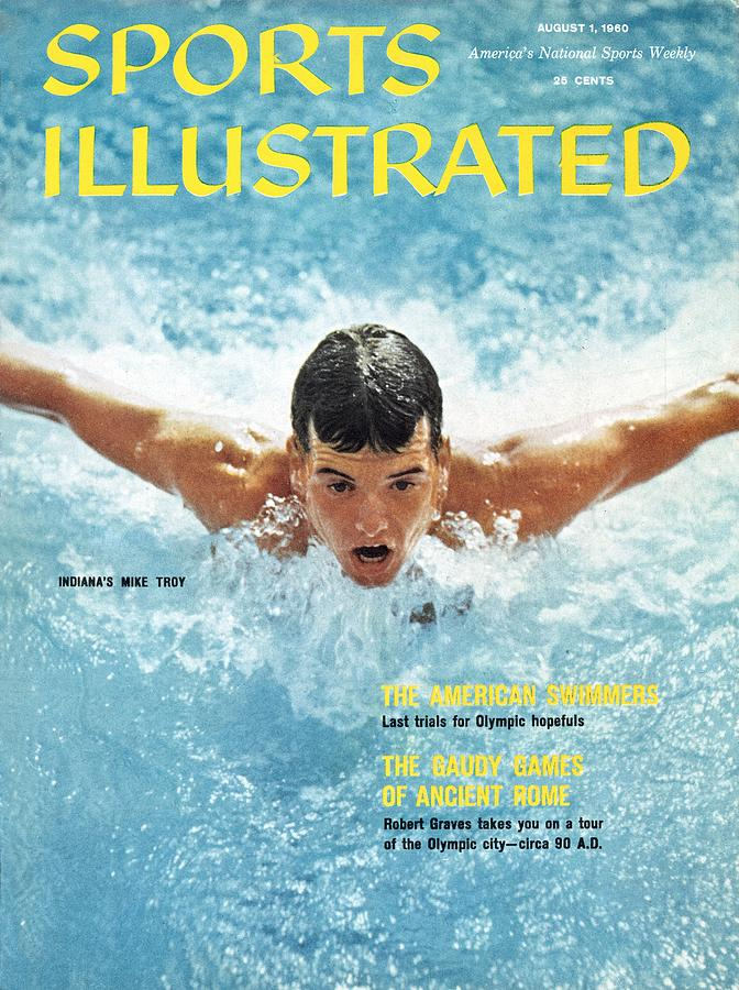 Usa Mike Troy, 1959 Pan American Games Sports Illustrated Cover Photograph by Sports Illustrated