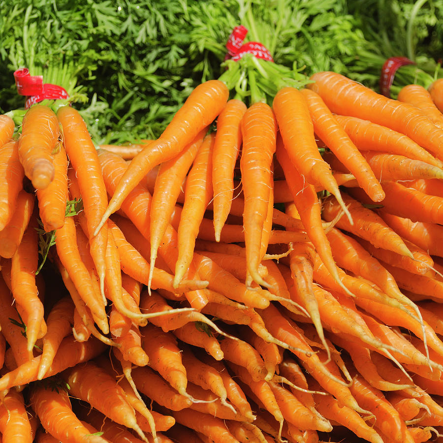 Usa, New York City, Carrots For Sale Photograph by Tetra Images