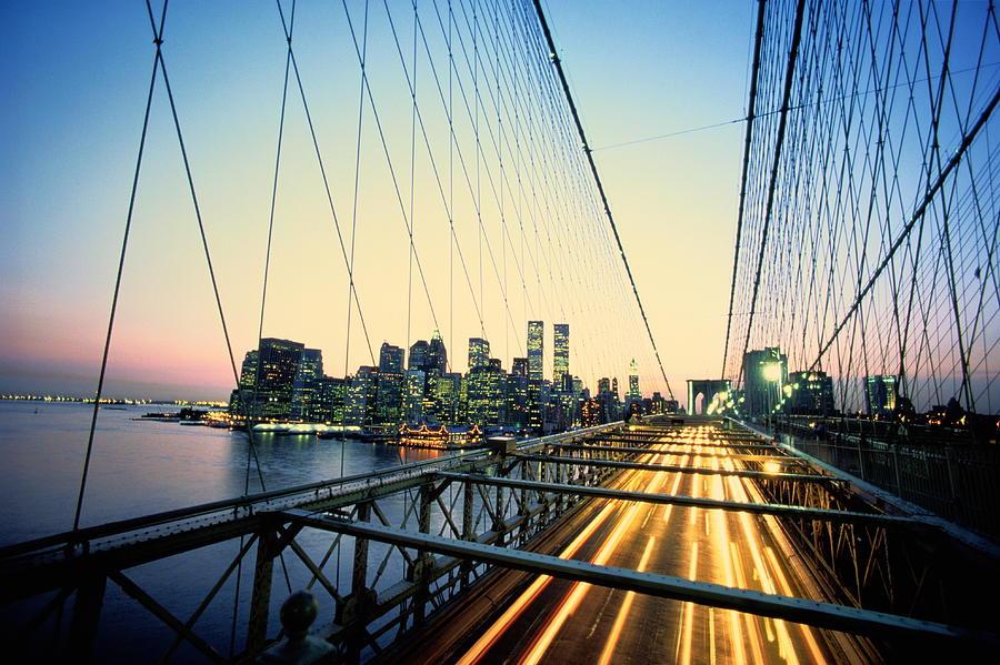 Usa, New York City, Manhattan, View Photograph by Paul Radenfeld