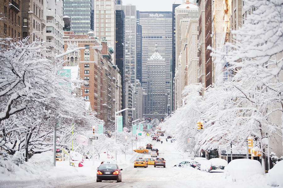 Usa, New York City, Park Avenue In Photograph by Fotog