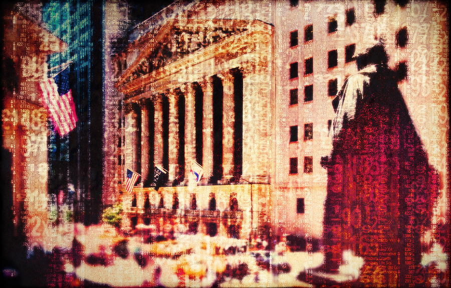 Usa, New York City, Wall Street, And Photograph by Doug Armand