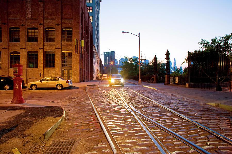 Usa, New York, Manhattan, Street At Photograph by Maremagnum