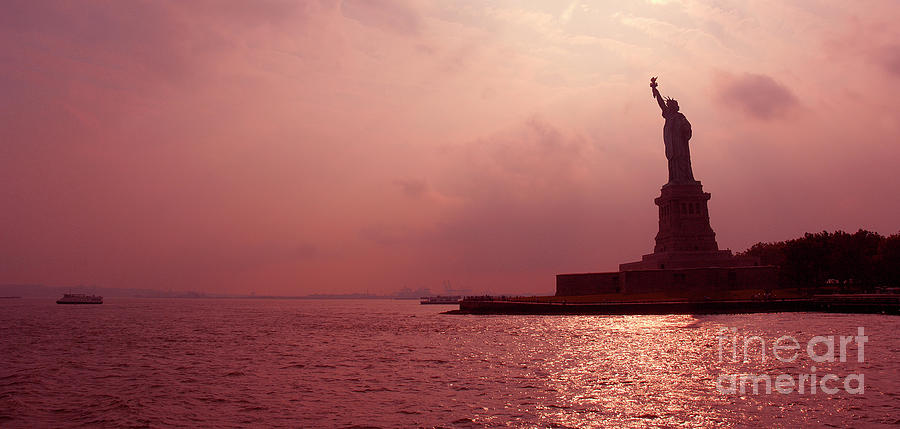 Usa, New York, Statue Of Liberty Photograph by Thierry Dosogne