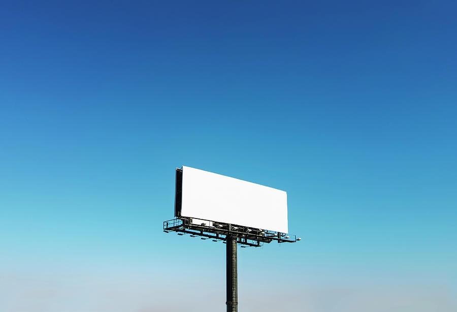 Usa, North Carolina, Billboard Under Photograph by Tetra Images