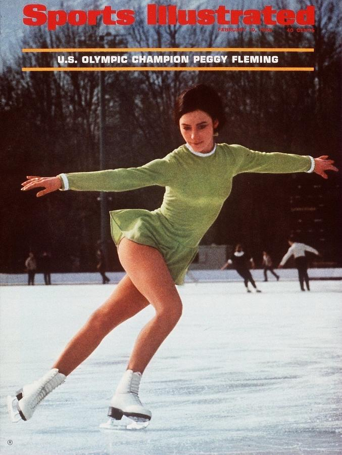 Usa Peggy Fleming, 1968 Winter Olympics Sports Illustrated Cover Photograph by Sports Illustrated